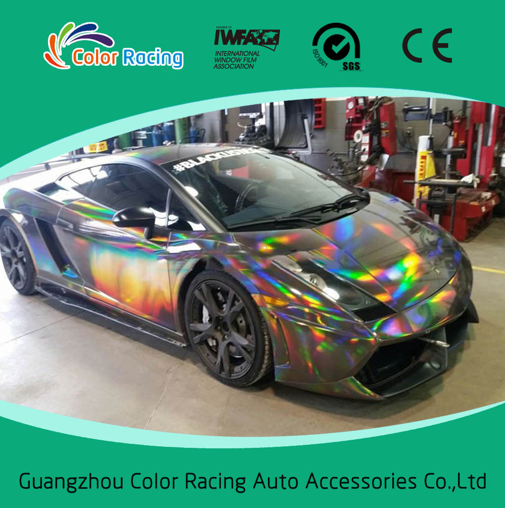 Laser Rainbow Car Vinyl Film