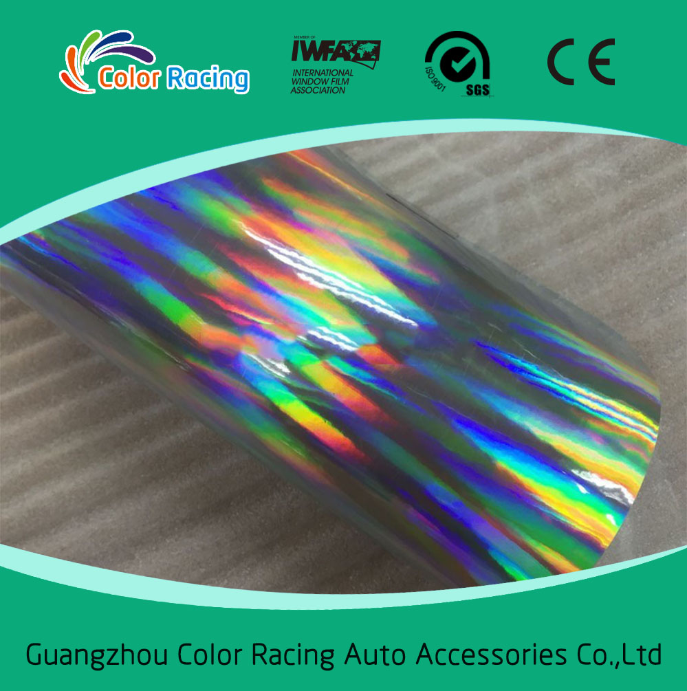 photograph regarding Printable Vinyl Wrap referred to as Superior reflective printable rainbow chrome chameleon laser